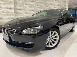 BMW 6シリーズ 640iクーペ 黒革ヒーター付き ナビTV バックカメラ