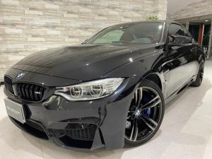 BMW M4 M4クーペ 6速MT 禁煙 赤革ヒーター フルセグTV ナビ Bカメラ 障害物センサー インテリジェントセーフティ LEDヘッドライト ヘッドアップディスプレイ 19インチオプションホイール