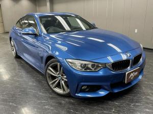 BMW 4シリーズ 428iクーペ Mスポーツ インテリジェントセーフティ/レーンキープ/衝突軽減/コンフォートアクセス/PUSHスタート/純正HDDナビ/フルセグ/BT&USB接続/HUD/Bカメラ/障害物センサー/ETC/純正19inchアルミ