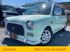ダイハツ ミラジーノ ジーノ 全塗装 新品革調シートカバー キーレス