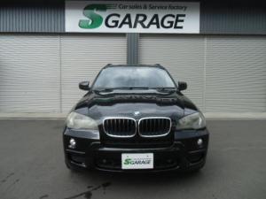 BMW X5 xDrive 30i Mスポーツパッケージ 7人乗り 3列シート ワンオーナー ナビ 黒革シート サンルーフ クルーズコントロール バックカメラ HIDヘッドライト ETC シートヒーター パワーシート コンフォートアクセスキー