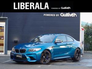 BMW M2 ベースグレード M DCT ドライブロジック M PerformanceカーボンRディフューザー・カーボンドアミラー 黒革シート