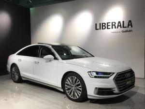 アウディ A8 60TFSIクワトロ Audiデザインセレクション/コンフォートPKG/アシスタンスPKG/ヘッドアップディスプレイ/全席シートヒーター/全席エアシート/Bang&Olufsen/HDマトリクスLEDレーザーライト