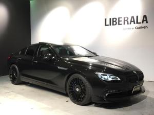 BMWアルピナ B6 ビターボ グランクーペ 新車並行車 サンルーフ harman/kardon バックカメラ インディビジュアルレザー HUD レーンチェンジ