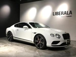 ベントレー コンチネンタル GT V8 S マリナードライビング/バックカメラ/シートヒーター/スポーツギアレバー/黒革シート/純正21インチAW