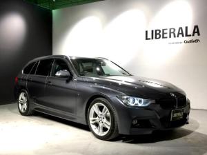 BMW 3シリーズ 320i xDriveツーリング Mスポーツ harman/kardon・サンルーフ・黒革・地デジTV・純正HDDナビ・全席シートヒーター・バックカメラ・ETC・前後ドラレコ・クルコン・純正18AW