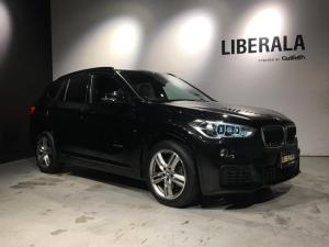 BMW X1 xDrive 18d Mスポーツ 衝突軽減B・ACC・黒革・HUD・純正HDDナビ・インテリジェントS・コンフォートアクセス・純正HDDナビ・Bカメラ・ETC・レーンアシスト