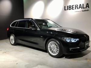 BMW 3シリーズ 320i xDrive ラグジュアリー 1オーナー・ACC・茶革・コンフォートA・レーンディパーチャーウォーニング・レーンチェーンジウォーニング・純正HDDナビ・Bカメラ・ETC・LEDヘッド