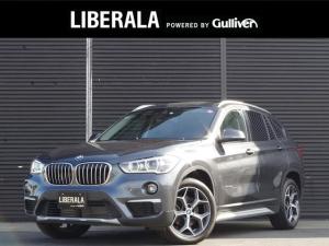 BMW X1 xDrive 18d xライン iDriveナビ バックカメラ LEDヘッドライト 半革シート シートヒーター LDW コンフォートアクセス 前席シートヒーター パワーバックドア インテリジェントセーフティPKG