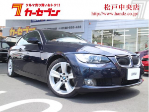 BMW BMW 335iカブリオレ HDD 革 ETC HID 18AW