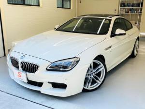 BMW 6シリーズ 640iクーペ Mスポーツ LCIモデル ディーラー整備 パノラミックルーフ OP20インチAW ダコタレザーシート ヘッドアップディスプレイ ドライビングアシストプラス アクティブクルーズコントロール(ストップ&ゴー機能付)