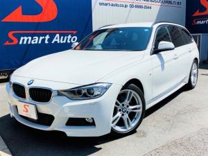 BMW 3シリーズ 320iツーリング Mスポーツ ワンオーナー ディーラー整備 インテリジェントセーフティー アクティブクルーズコントロール レーンディパーチャーウォーニング コンフォートアクセス パワートランク 純正18インチAW 車検整備付き