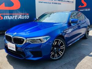 BMW M5 M5 法人ワンオーナー ブラックメリノレザー 600PS ヘッドアップディスプレイ コンフォートパッケージ ドライビングアシスト パーキングアシスト アダプティブLEDヘッドライト 純正20インチAW 禁煙