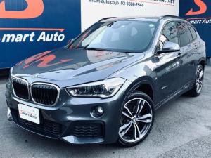 BMW X1 sDrive 18i Mスポーツ ワンオーナー インテリジェントセーフティ LEDヘッドライト OP19インチAW iDrive・HDDナビゲーション パーキングアシスト ライトパッケージ ディーラー整備車 コンフォートアクセス 禁煙