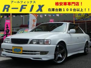トヨタ チェイサー ツアラーV純正5速 LSD 前置IC タイヤ新品交換済即ドリ