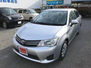 トヨタ カローラアクシオ 1.5X VSC CD再生 ワイヤレスキー SDナビ ABS エアコン パワステ