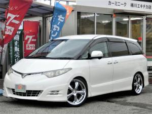 トヨタ エスティマ アエラス Sパッケージ ユ-ザ-買取車 車高調 20AW