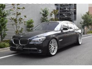 BMW 7シリーズ 750Li WALD21インチ ローダウン ブラックレザーシート ETC バックカメラ リアセパレートシート サンルーフ 4人乗り ヘッドアップディスプレイ