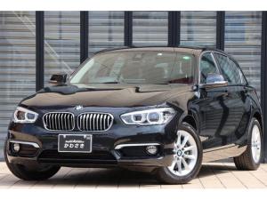 BMW 1シリーズ 118d スタイル ワンオーナー/ユーザー買取車/純正ナビ/ミラー内臓ETC/バックカメラ/ハーフレザーシート/キーレスプッシュスタート/革巻きステアリング/車線逸脱防止システム/LEDヘッドライト/純正16インチAW