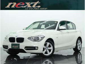 BMW 1シリーズ 116i スポーツ 純正ナビ フルセグ バックカメラ ETC HIDライト 衝突警告 車線逸脱警告