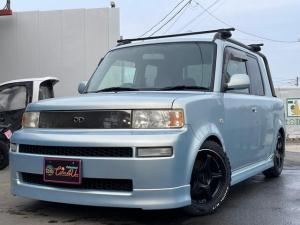 トヨタ bB オーシャンズバージョン ルーフテント マッドテレーンタイヤ ステンレスヒッチメンバー 後期フェイス 車高調 社外16AW フルセグTVナビ BTハンズフリー