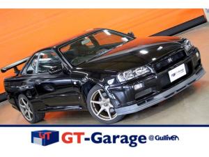 日産 スカイライン GT-R 後期 車検整備付 ブラックパール Frアンダーディフューザー 吸排気系オリジナル 純正18インチAW