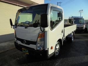 日産 アトラストラック スーパーローDXガソリン車オートマ3方開き積載1.5t