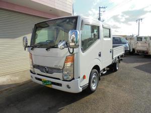 日産 アトラストラック WキャブスーパーローDX ディーゼル積載1250kgオートマ3方開きETC付