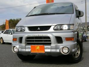 三菱 デリカスペースギア シャモニー 4WD 8人乗り HDDナビ