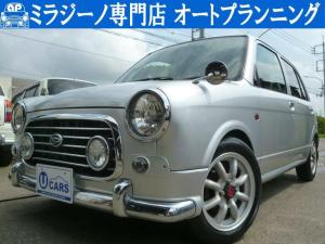 ダイハツ ミラジーノ ミニライトSPターボ4WD 5速MT ワタナベAW 新タイヤ