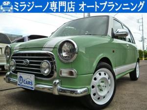 ダイハツ ミラジーノ カスタムカラー全塗装 新品タイヤ 新品シートカバー