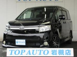 トヨタ ヴォクシー ZS 電動ドア HDDナビ ETC ローダウン 社外アルミ