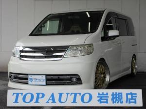 日産 セレナ ライダー 電動ドア レカロシート 車高調 19インチアルミ