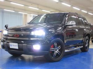 シボレートレイルブレイザー LTZ 4WD ディーラー車 サンルーフ 黒革シート HDDナビ フルセグテレビ バックカメラ Bluetooth機能 ETC 音楽録音 クルーズコントロールヒッチメンバー LEDテール 20インチアルミ