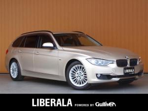 BMW 3シリーズ 320iツーリング ラグジュアリー 黒革シート 純ナビ Bカメラ コンフォートアクセス パワーバックドア キセノン パワーシート/ヒーター/メモリ 純正17AW プッシュスタート ETC