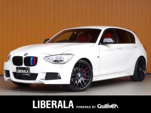 BMW 1シリーズ 116iMスポーツ 純正ナビ フルセグTV 19AWキセノン