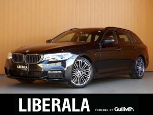 BMW 5シリーズ 523iツーリング Mスポーツ ハイラインPKG 黒革シート アンビエントライト 純正ナビTV 360度カメラ パーキングアシスト ACC 衝突軽減B LDW LCW パワーシート/ヒーター コンフォートアクセス パワーバックドア