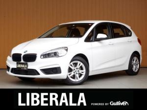 BMW 2シリーズ 218dアクティブツアラー 衝突軽減B レーンデパーチャーW iDriveナビ プッシュスタート 純正16inchAWETC LEDヘッドライト リアフォグランプ オートライト/ワイパー アイドリングストップ