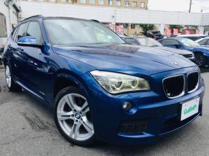 BMW X1 xDrive 28i Mスポーツ ナビAVIC-VH0099フルセグTV 社外モニター 社外DVDプレーヤー ターボ 4WD コンフォートアクセス ETC パワーシート 18インチAW オートライト プッシュスタート 横滑り防止