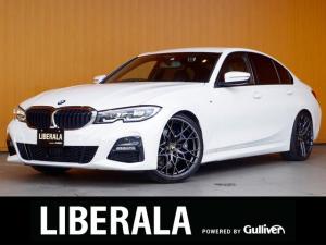 BMW 3シリーズ 330i Mスポーツ ACC 衝突軽減B LDW LCW 純ナビ 360度カメラ ライブコックピット PDC HUD 黒半革 パワーシート/ヒーター/メモリ MキャリパーVORSTEINER20incAW アイバッハ車高調