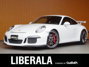 ポルシェ 911 911GT3 スポーツエキゾースト フロントリフト 黒半革シート 純正ナビTV Bカメラ ETCパドルシフト 純正20incAW レッドキャリパー 社外レーダー