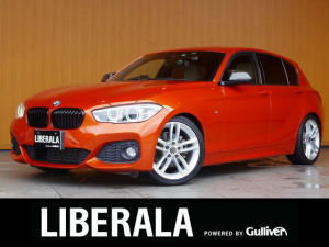 BMW 1シリーズ 118i Mスポーツ 衝突軽減B LDW 白革シート 純ナビ Bカメラ パークディスタンス 純18AWサイドミラーシーケンシャル H&R Fahrheck車高調 パワーシート/ヒーター/メモリ コンフォートA LEDヘッド