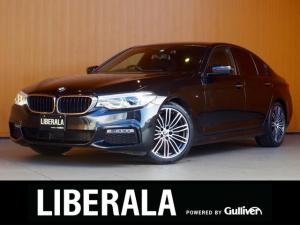 BMW 5シリーズ 523d Mスポーツ ACC 衝突軽減B LDW LCW HUD 純正ナビTV Bカメラ 純正19AW ジェスチャーCソフトクローズドドア コンフォートアクセス パワーバックドア アダプティブLEDヘッド パドルシフト