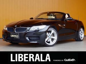 BMW Z4 sDrive20i Mスポーツ 白革シート 純正ナビ 電動オープン パワーシート/ヒーター/メモリ 純正18AWパドルシフト プッシュスタート リモコンキー キセノンライト