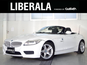 BMW Z4 sDrive23i ハイラインパッケージ 直6エンジン MスポーツF/Rバンパー 黒革シート 純正ナビ フルセグTV バイキセノン パワーシート ヒートヒーター 電動オープン パドルシフト