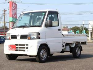 日産 クリッパートラック SD AC付 荷台マット 3方開 スペアキー ワンオーナー