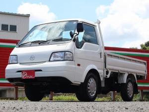 マツダ ボンゴトラック シングルワイドローDX 1150キロ積み 3方開 車検整備付き 4ナンバー 5MT 3ペダル キーレス