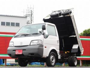 マツダ ボンゴトラック  ダンプ 4WD 1000キロ積載 3方開 新明和製ダンプ TESMA 荷台内寸212-161-20 Wエアバック スペアキー 集中ドアロック 最大積載量1000キロ 車両総重量2680キロ