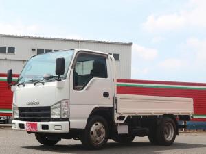 いすゞ エルフトラック フルフラットロー 1.5t積み 軽油 4WD 5速MT&3ペダル 三方開チェーン付 ETC付 後輪Wタイヤ EG型式:4JJ1 最大積載量:1500kg 車両総重量:4015kg 荷台寸(約):306.150.38
