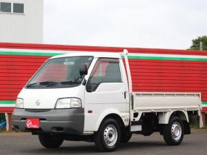 日産 バネットトラック スーパーローDX 4WD ディーゼル 5速MT AC付 3人乗り 三方開 集中ドアロック 850K 鳥居付 DPF PW付 バイザーマット 荷台寸法247・160・34